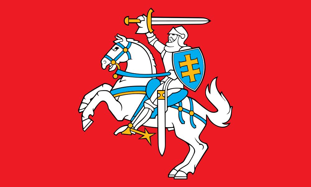 Antiguo estandarte del Ducado Lituano