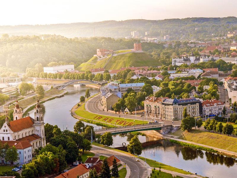 Centro histórico de Vilnius