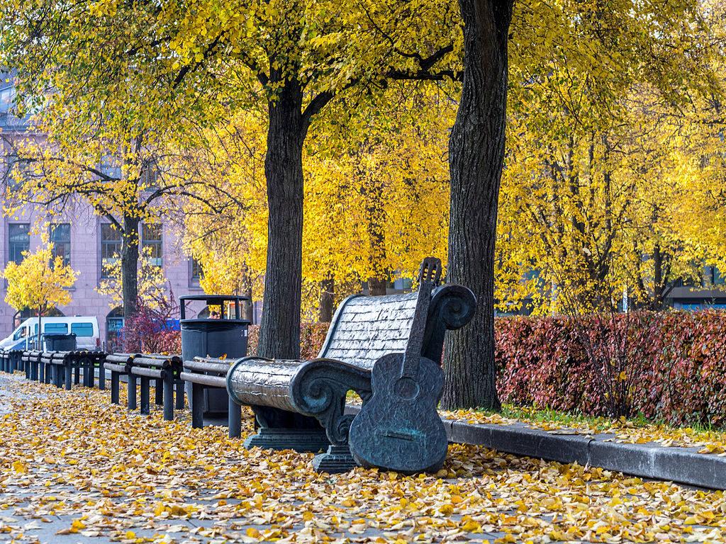 Otoño en Vilnius