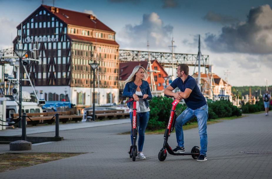 La preciosa ciudad portuaria de Klaipeda